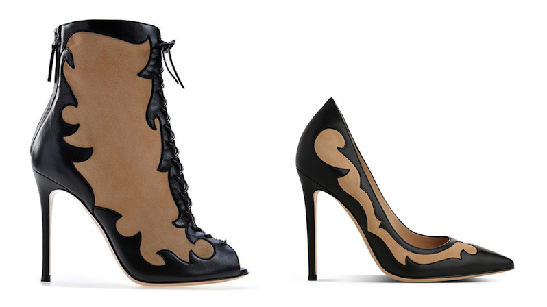 Gianvito Rossi Bonnie Bootie & Pump: Urban Cowgirl