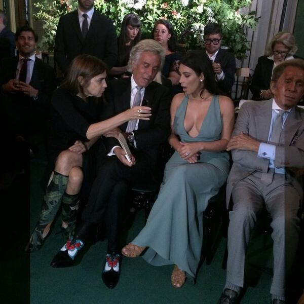 Kim Kardashian Valentino