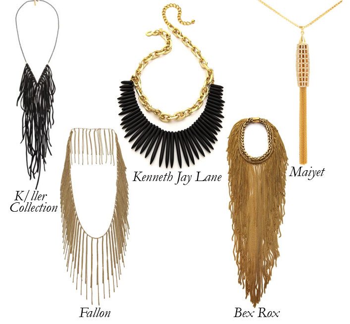 Fringe Jewelry: Stranding Up