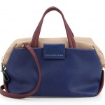 MARC by Marc Jacobs Colorblock Leather Box Satchel Bag