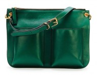 Marni Bandoleer Soft Leather Shoulder Bag