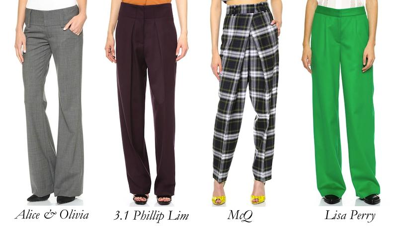 Menswear-Inspired Pants