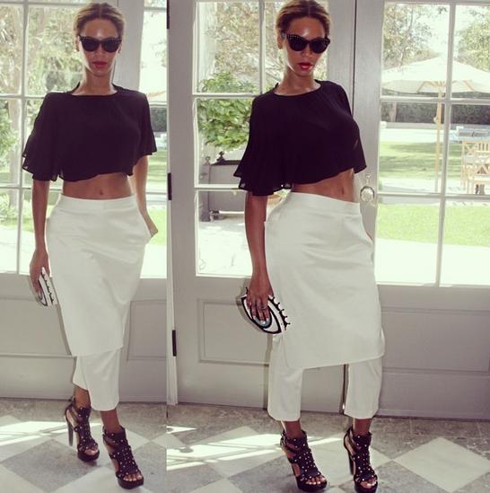 Beyoncé x 3.1 Phillip Lim Apron Trouser