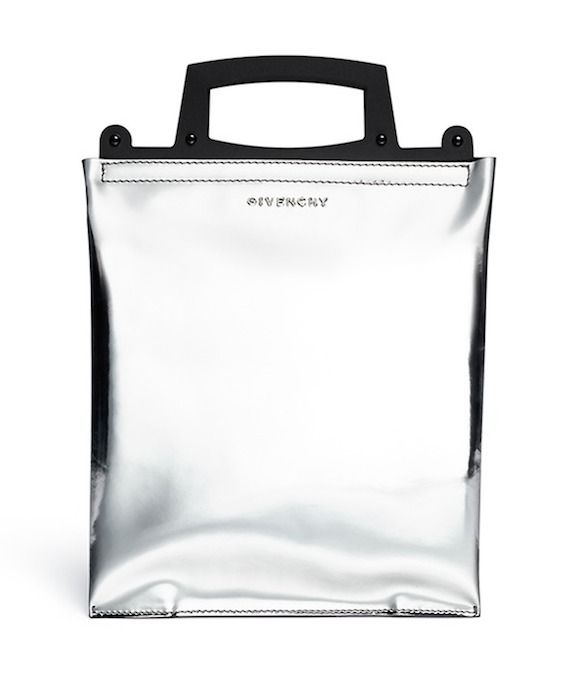 Givenchy Rave Metallic Leather Frame Bag