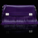 Prada Leather Fringe Shoulder Bag