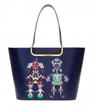 Mary Katrantzou Navy Marinella Tote