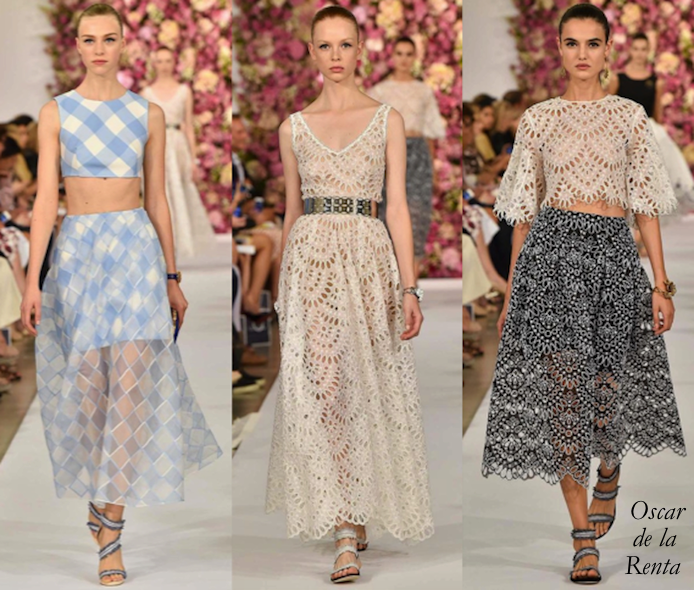 Oscar de la Renta Spring 2015 Collection: Garden Party Girl