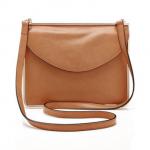 Carven Metal-Framed Leather Shoulder Bag: A Classic Frame of Mind