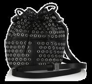Tamara Mellon Elixir Eyelet-Embellished Leather Bucket Bag