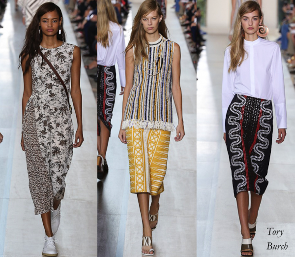 Tory Burch Spring 2015 Collection