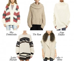 Top 5 Oversized Sweaters