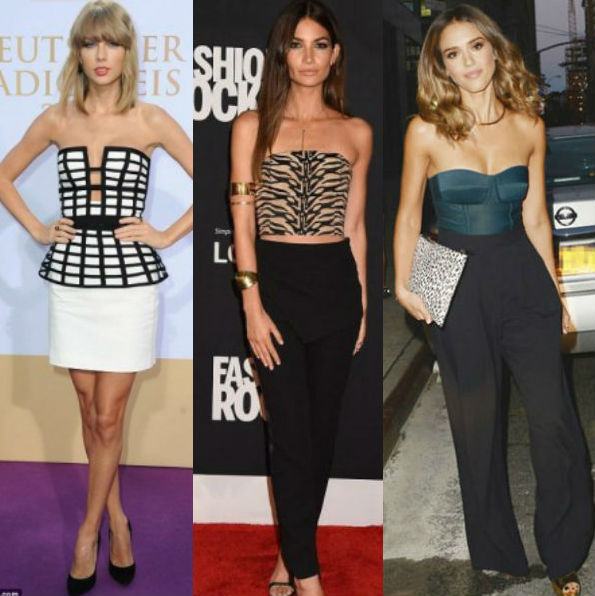 Give Yourself a Boost: Bustier Trend