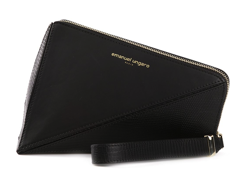 Emanuel Ungaro Triangle Clutch: Tri Something New