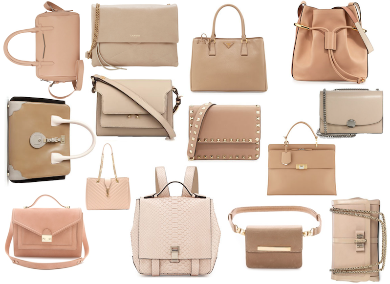 Top Nude Bags: Neutral Nation