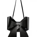 MM6 Maison Martin Margiela Bow-Embellished PU Shoulder Bag: Put a Bow On It