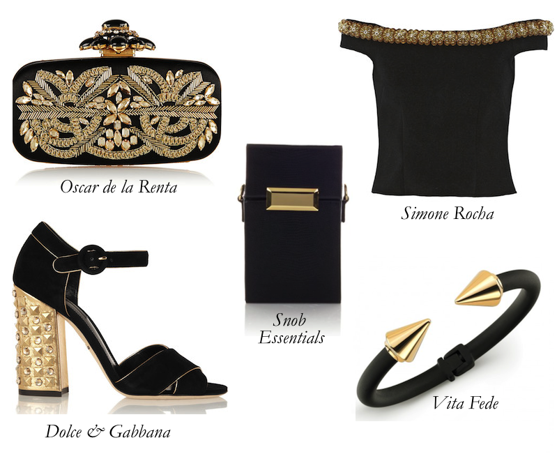 Black and Gold: For the Love of Luxury