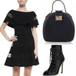 How to Wear Monochrome Black: Dark Angel