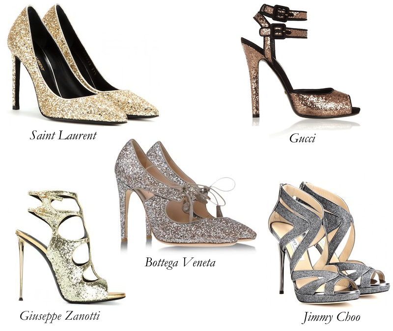 The Best Glittery Shoes You Must Have This Season