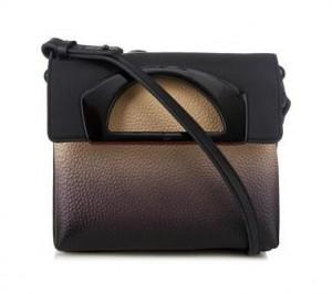 Christian Louboutin Passage Ombré Leather Messenger Bag