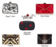 AlexanderMcQueen_Lanvin_RogerVivier_Marchesa_EdieParker_Clutch_Python_Sequin_Bag