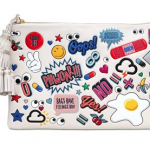 Anya Hindmarch Georgiana Stickers Printed Leather Bag: Stick It to 'Em