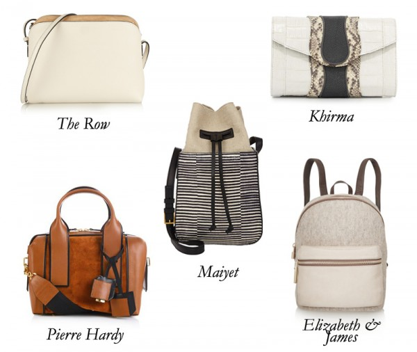 ElizabethandJames_Khirma_PierreHardy_TheRow_Maiyet_Backpack_Bag_Clutch_Crossbody_Bucket_Shoulder