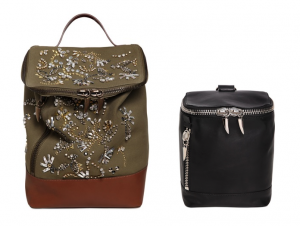 Giuseppe Zanotti Leather Backpacks
