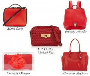 markcross_crossbody_charlotteolympia_clutch_michalkors_shoulder_proenzaschouler_backpack_alexandermcqueen_top_handle_red_bag