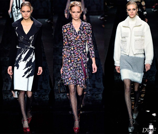 Diane von Furstenberg, DKNY, and Thakoon Fall 2015 Collections