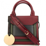 Pierre Hardy Bi-Color Leather Crossbody Bag: Elements of Style