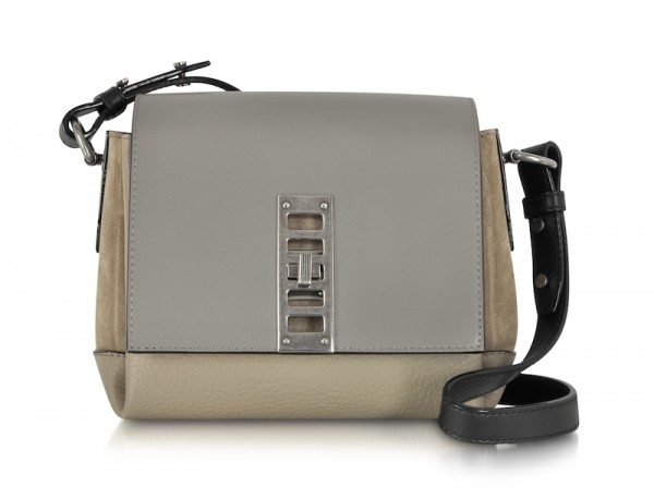Proenza Schouler Mini Elliot Suede and Leather Crossbody Bag