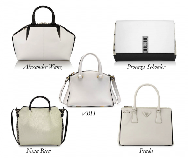 Top White Bags With a Kick