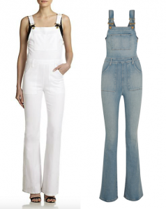 Frame Denim Le High Flare Overall