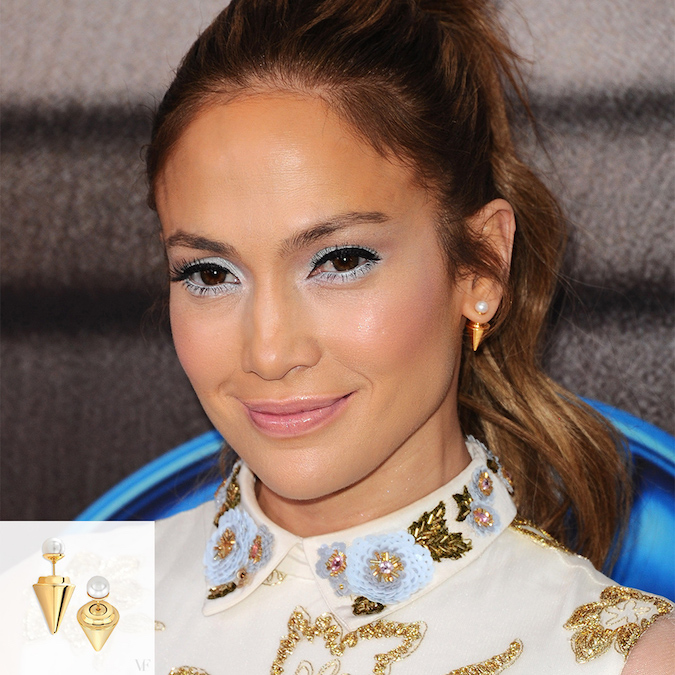 Jennifer Lopez x Vita Fede Double Titan Pearl Earrings: Girl with the Pearl Earrings
