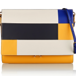 Marni File Colorblock Leather Clutch: Sense of Direction