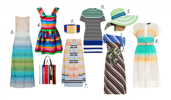Top Spring Stripes