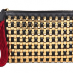 Marni Woven Faux Leather & Leather Clutch: Master of the Mix