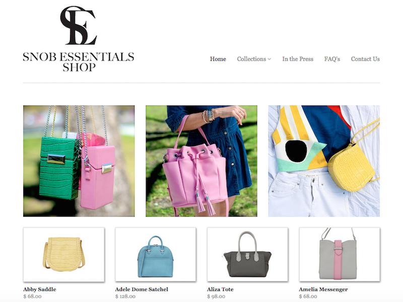 Snob Essentials Ecommerce Launch