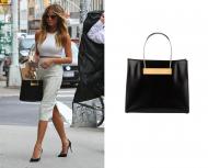 Chrissy Teigen x Balenciaga Cable Strap Small Shopper Bag