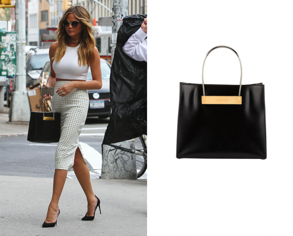 Chrissy Teigen x Balenciaga Cable Strap Small Shopper Bag