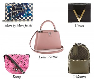 MarcJacobs_LouisVuitton_Valentino_Kenzo_Versus_Shoulder_Bag_Clutch_Backpack_tote