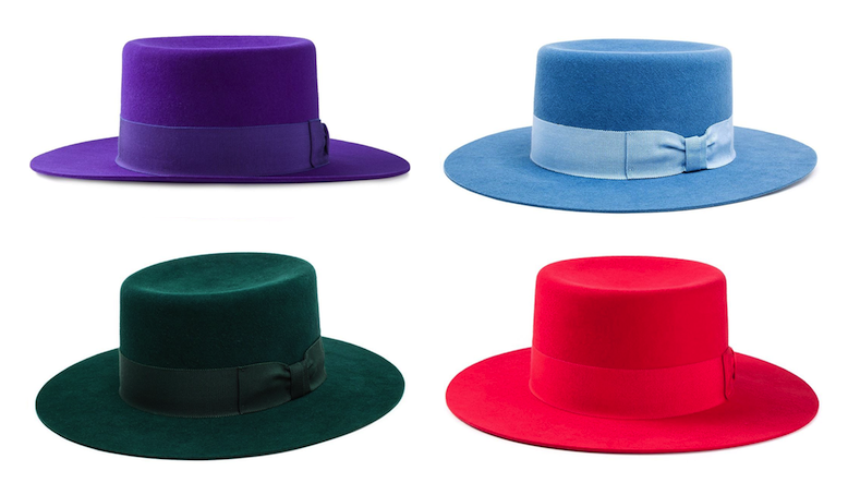 Saint Laurent Flat Brimmed Hats: Rock the Boater