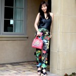 Valentino Camouflage Track Trousers: Singin' in the Rainbow