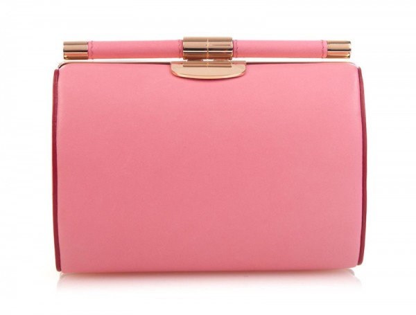 Tyler Alexandra Jamie Small Leather Clutch