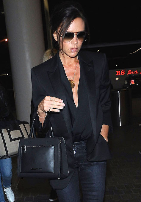 Victoria Beckham City Victoria Leather Tote