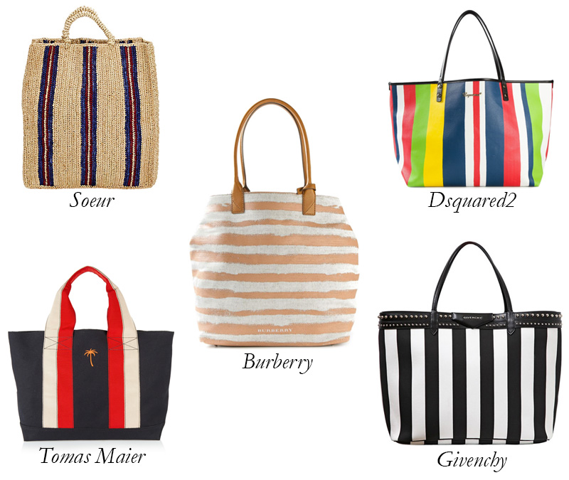 Top 5 Striped Beach Bags: To the Beach and Beyond