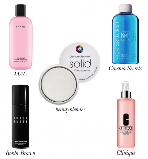 Hair and Makeup Brush Cleansers