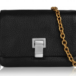 Proenza Schouler Courier Extra-Small Textured-Leather Shoulder Bag: Don't Mind Your Metals