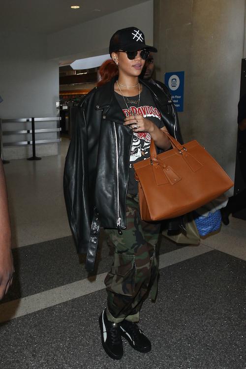 Rihanna x Giorgio Armani Le Sac 11