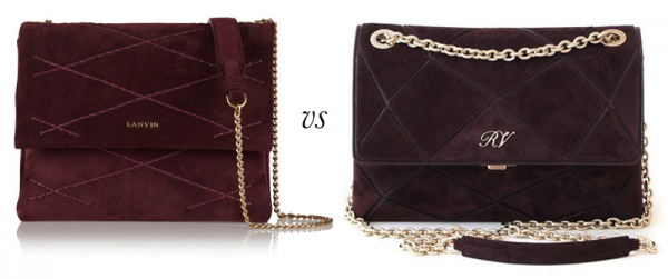 Lanvin Sugar Mini Quilted Suede Shoulder Bag vs. Roger Vivier Prismick Bag